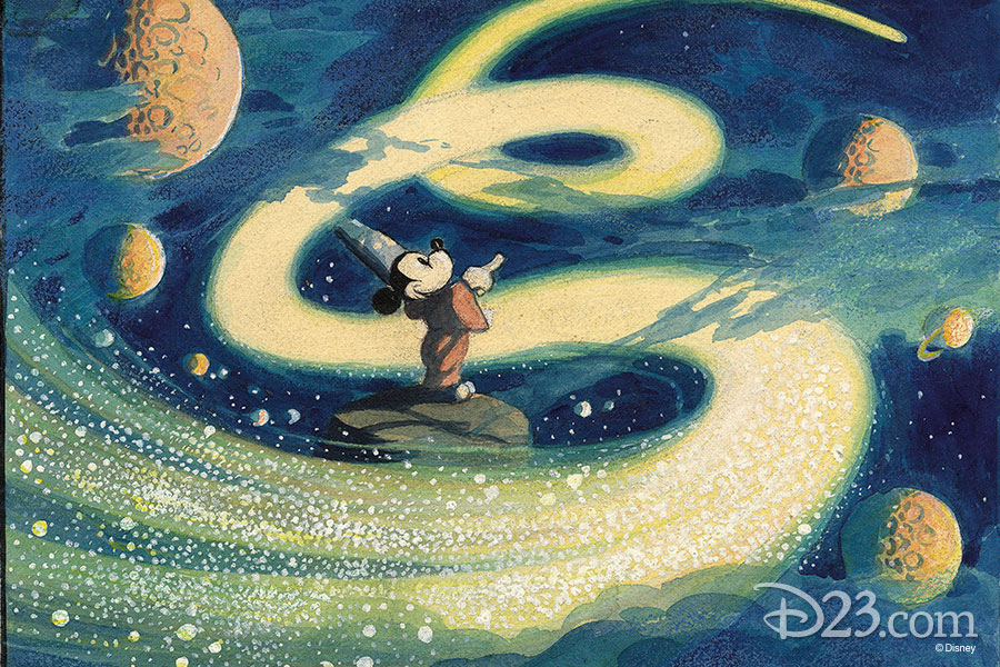 Fantasia concept art from The Walt Disney Film Archives: The Animated Movies 1921–1968