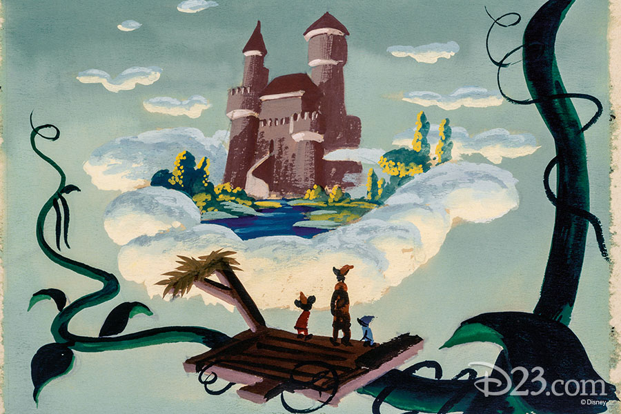 Mickey and the Beanstalk concept art from The Walt Disney Film Archives: The Animated Movies 1921–1968