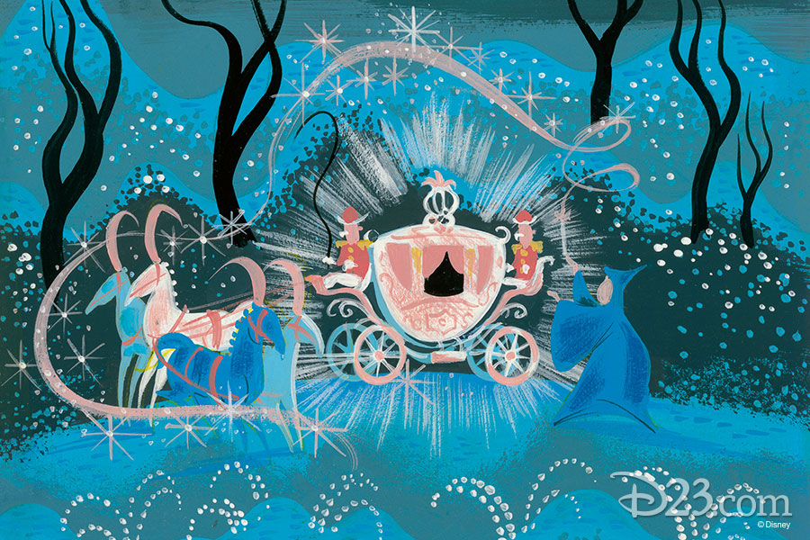 Cinderella concept art from The Walt Disney Film Archives: The Animated Movies 1921–1968
