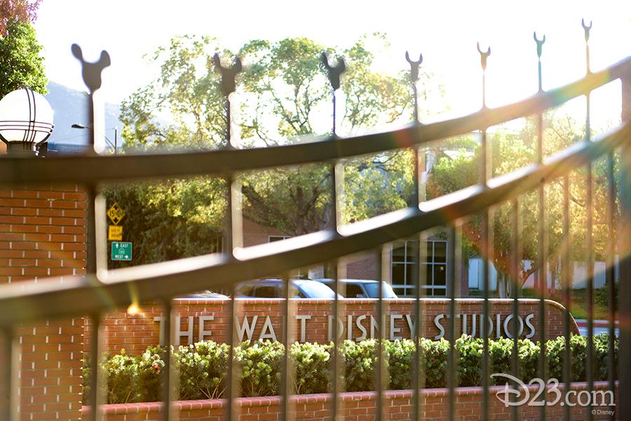 Walt Disney Studios entrance sign