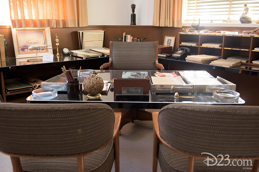 Walt Disney's informal office