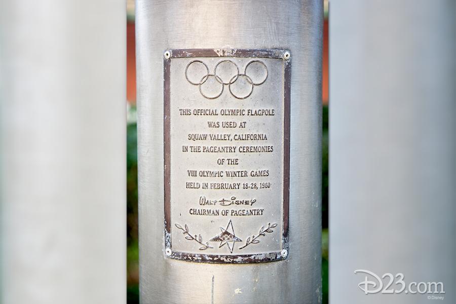 Olympics plaque