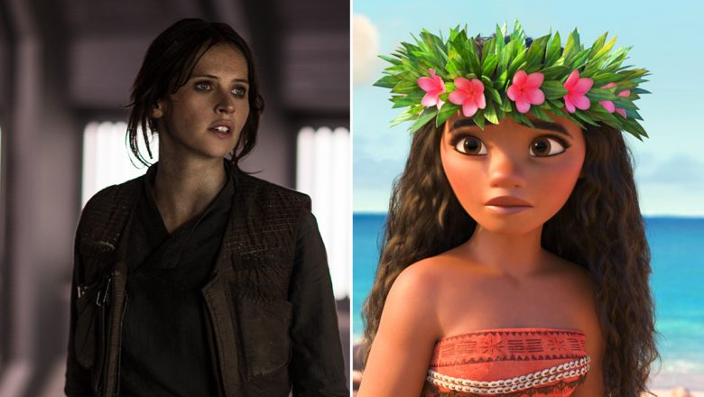 Jyn Erso and Moana