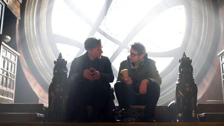Benedict Cumberbatch and Scott Derrickson