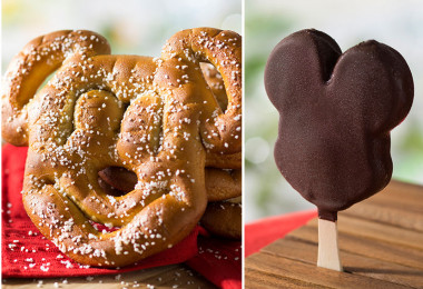 Mickey-shaped treats