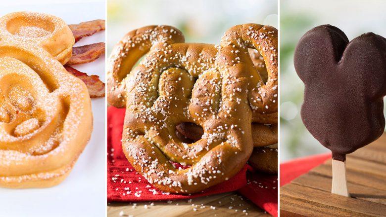 Mickey-shaped treats