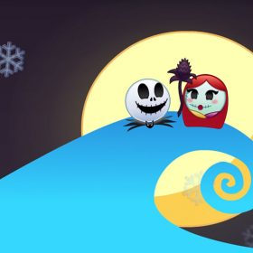 Nightmare Before Christmas as Told by Emoji