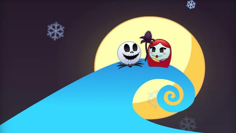 Nightmare Before Christmas as Told by Emoji