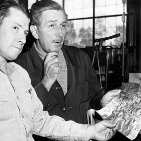 Bob Mattey and Walt Disney