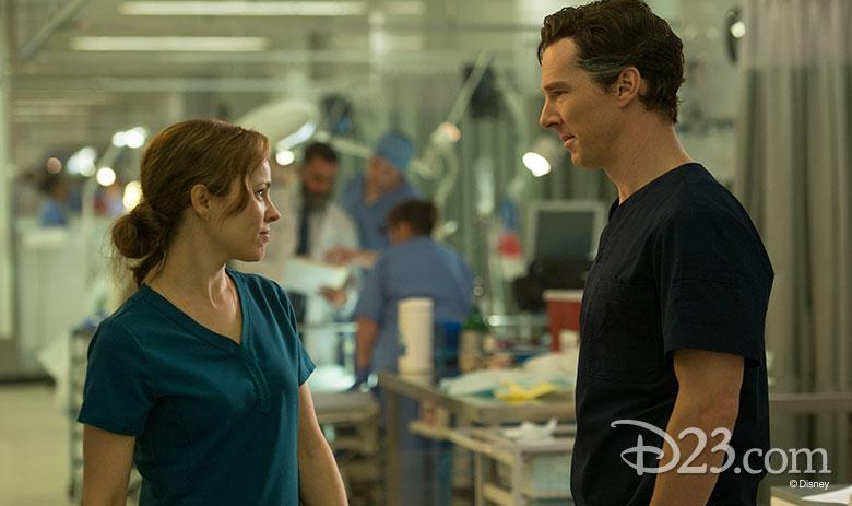 Rachel McAdams and Benedict Cumberbatch