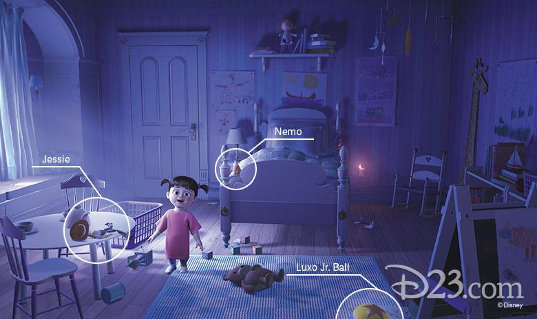 Boo's bedroom