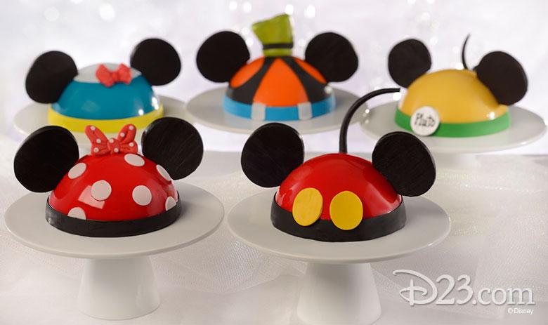 Mickey-shaped eats