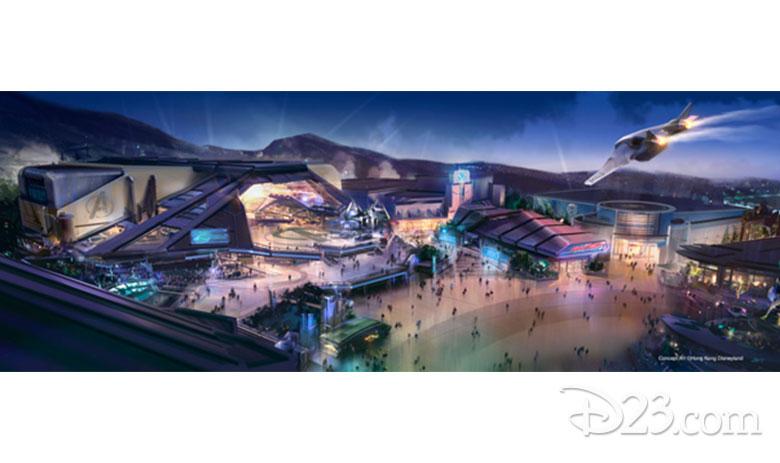 Marvel experience at Hong Kong Disneyland