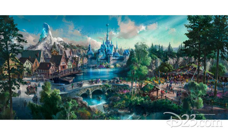Frozen at Hong Kong Disneyland