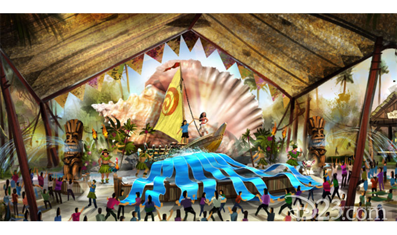 Moana village at Hong Kong Disneyland