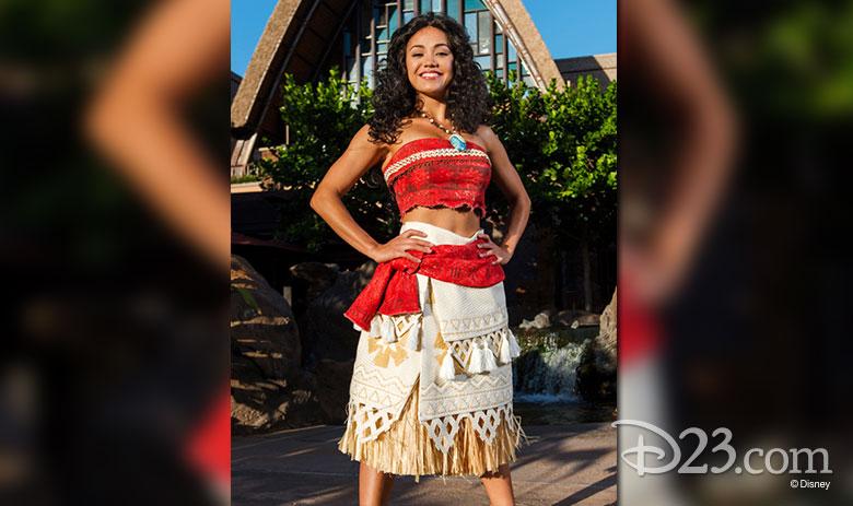 Moana at Disney Parks
