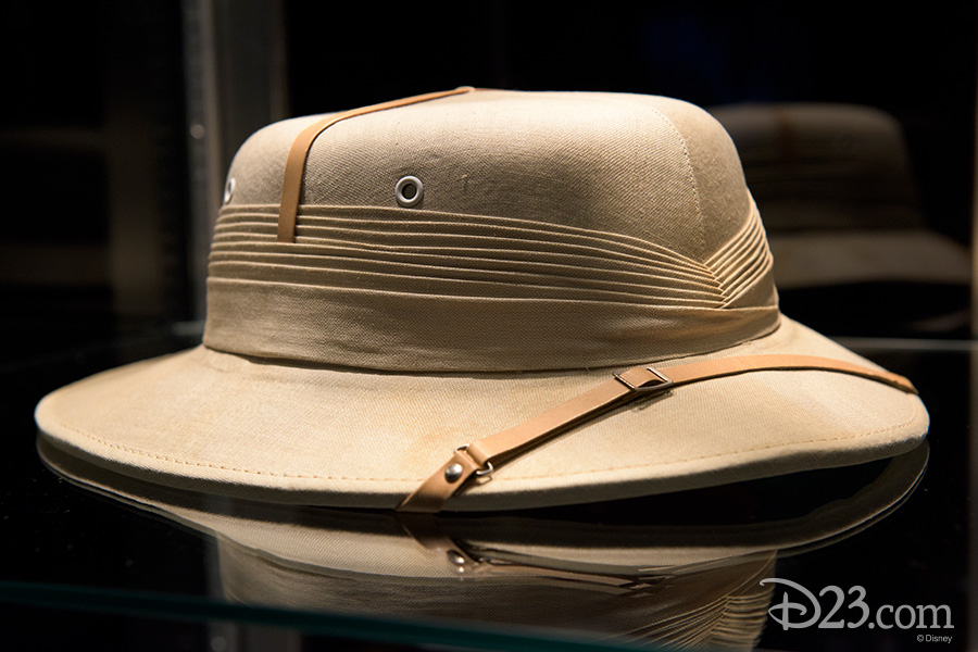 Pith helmet worn by Walt Disney