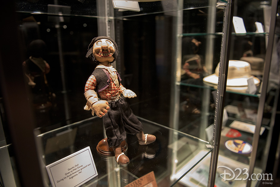 Goucho Doll given to Walt Disney during his South American goodwill tour, Argentina, 1941