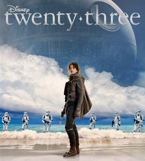 Disney twenty-three winter 2016 cover