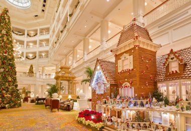 Disney's Grand Floridian Resort & Spa gingerbread house