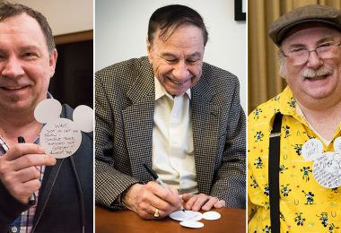 Andreas Deja, Richard Sherman, and Eric Goldberg