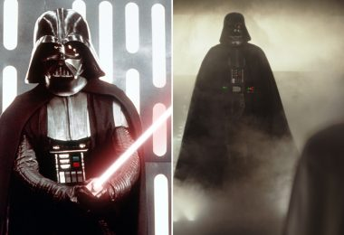 A New Hope and Rogue One Darth Vader comparison