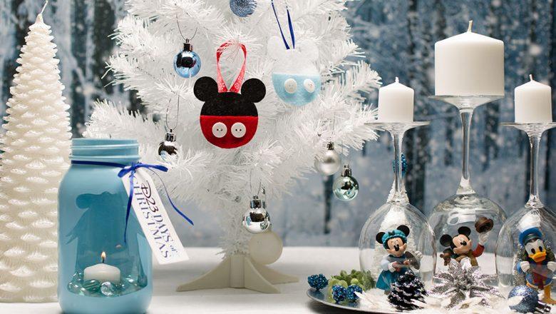 Mickey Mouse felt ornament