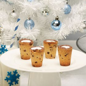 Milk and cookies shot glasses