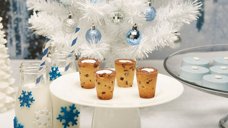 Milk and cookies shot glasses