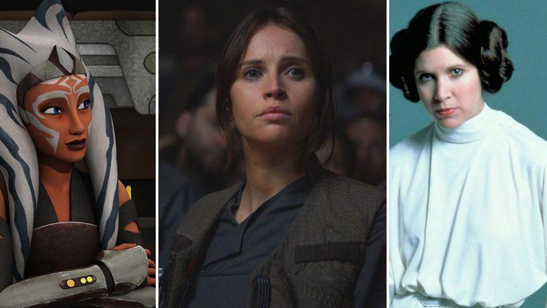 Star Wars leading ladies