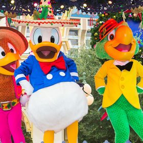 Viva Navidad with Panchito, Donald, and Jose