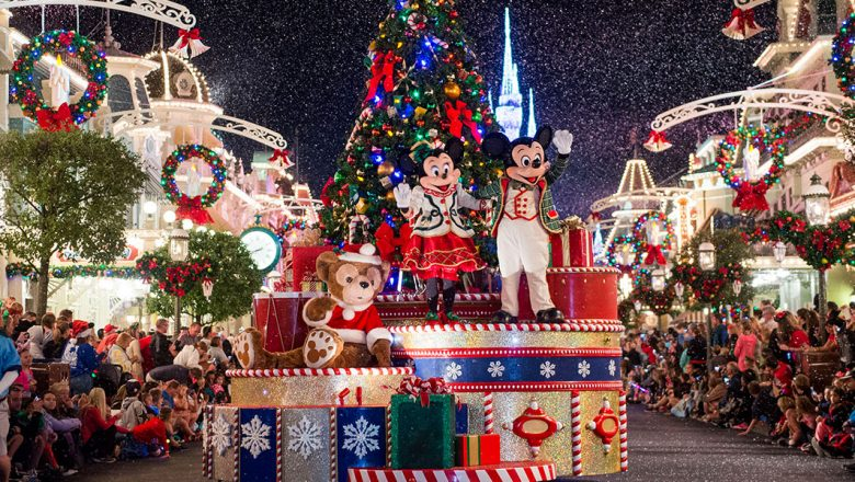 Parading Through the Holidays at Disney Parks