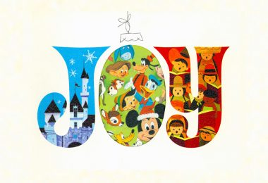 Disney Studio Christmas card