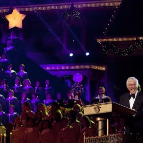 Dick Van Dyke at the Candlelight Processional