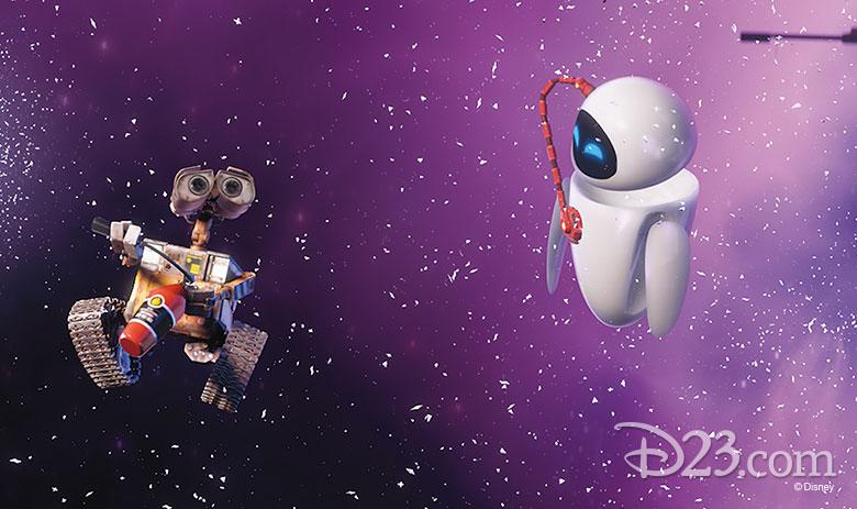 WALL•E and EVE