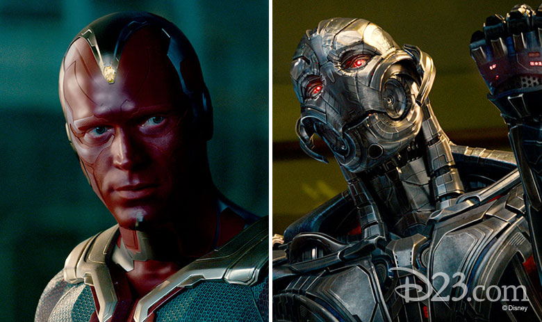 Ultron and the Vision