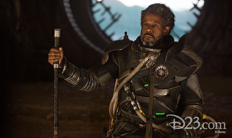 Saw Gerrera from Rogue One