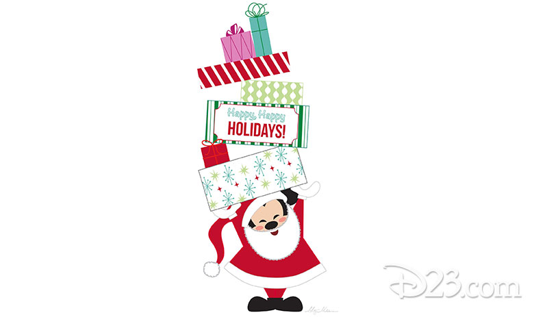 Monty Maldovan Disney holiday art