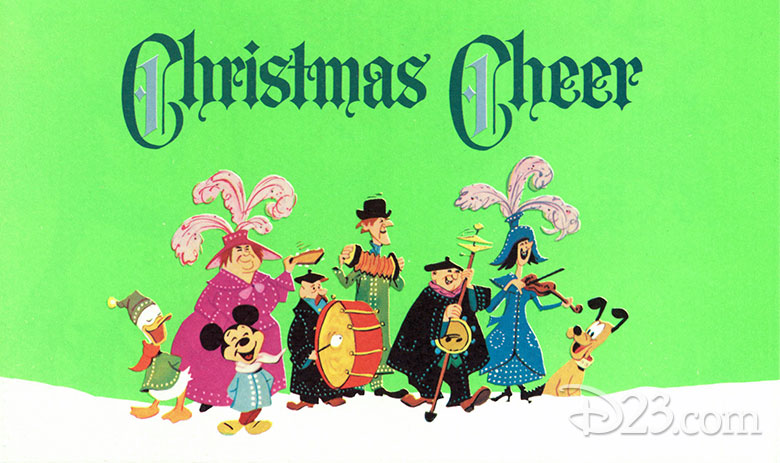 Disney Studio Christmas card