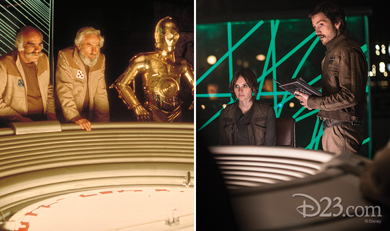 A New Hope and Rogue One comparison