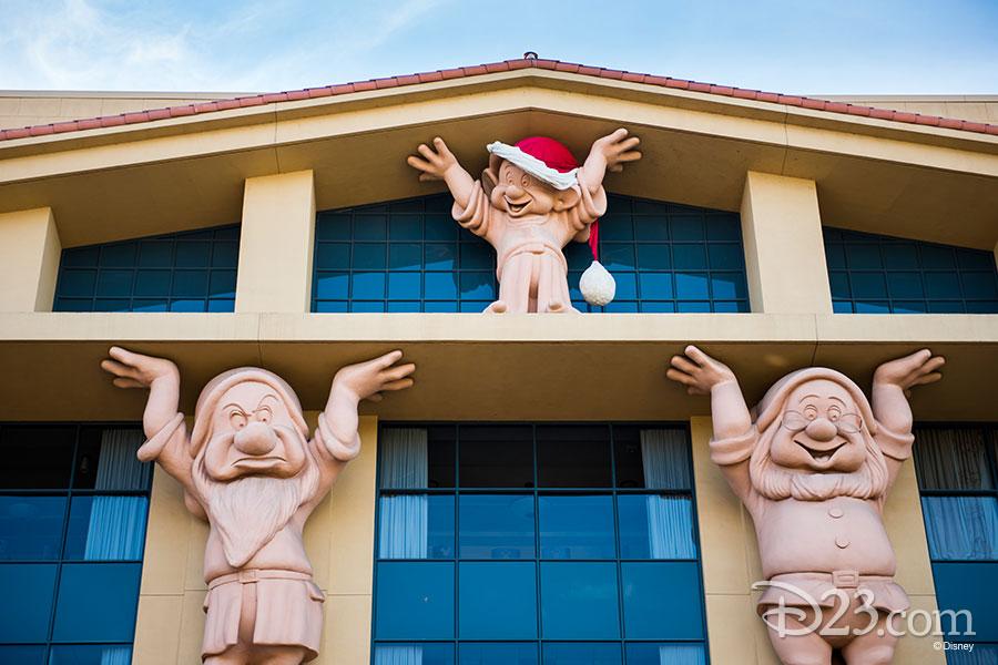 Walt Disney Studio lot Christmas