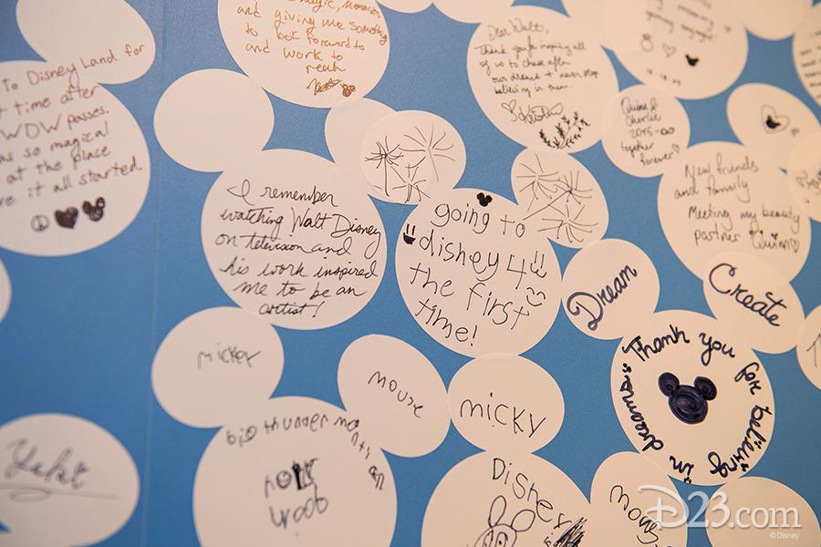 Walt Disney memory board