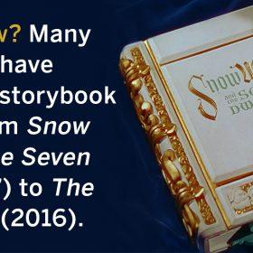 Snow White book FanShare