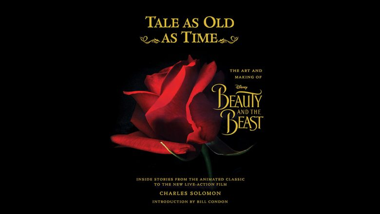 Exclusive Stunning New Beauty And The Beast Book Cover Revealed D23