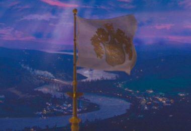 castle flag crest