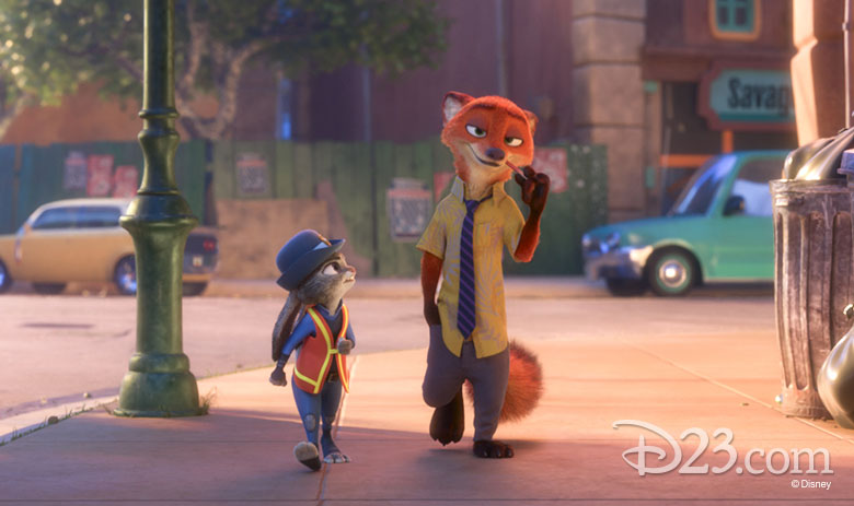 Judy Hopps and Nick Wilde