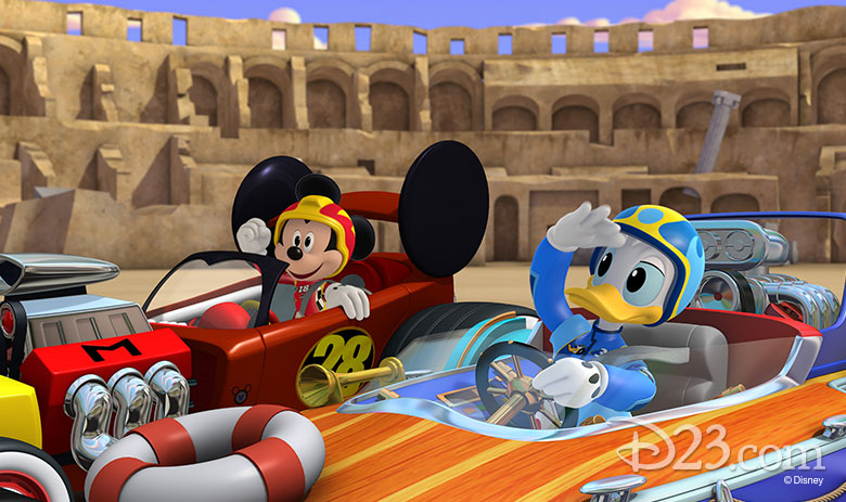 Gear Up For The Brand New Mickey And The Roadster Racers D23