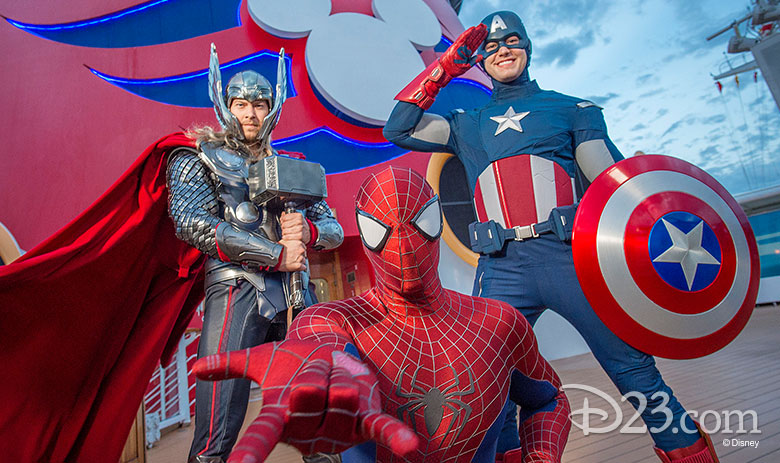 Marvel on Disney Cruise Line