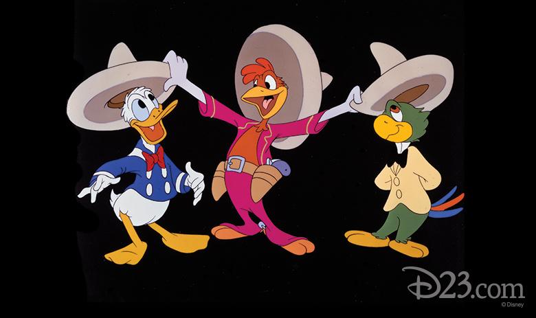 Donald, Panchito, and Jose