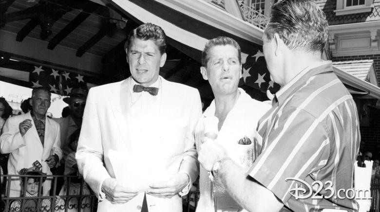 Ronald Reagan at Disneyland